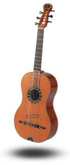 Historische Gitarre nach Knoessing