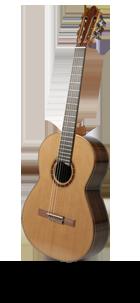 Klassische Konzertgitarre Zederndecke