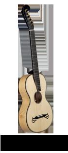Historische Gitarre nach Stauffer